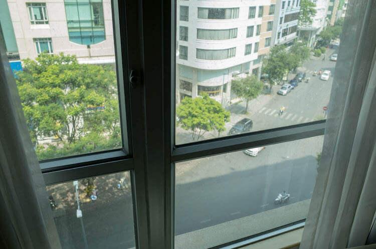 ニューワールドサイゴンホテル  窓からの景色