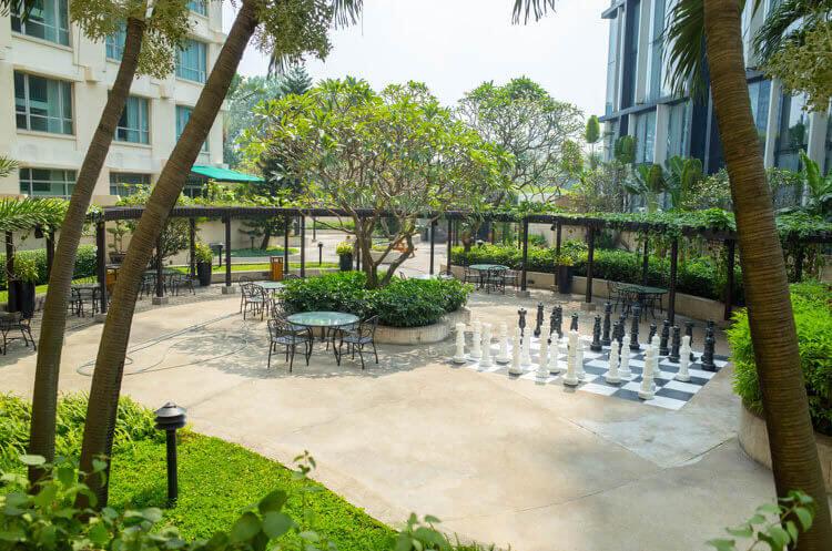 ニューワールドサイゴンホテル 中庭