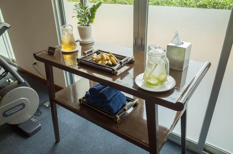 ニューワールドサイゴンホテル ジムの飲み物