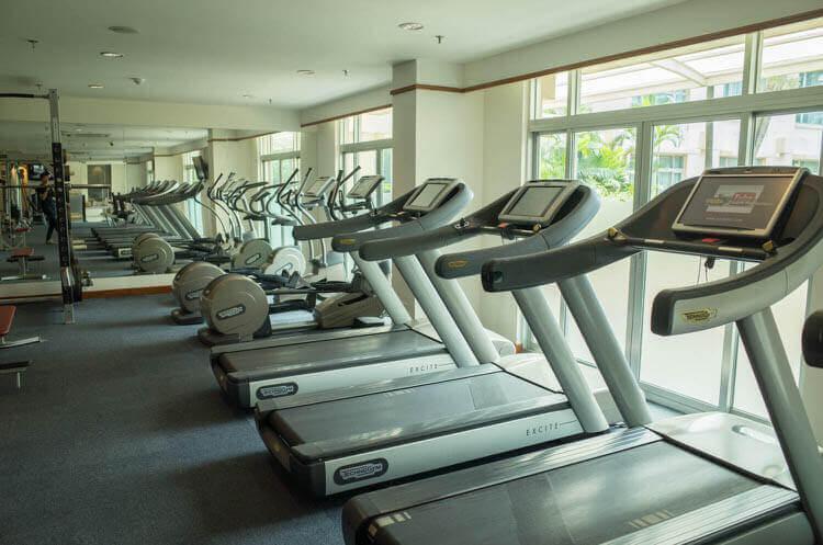 ニューワールドサイゴンホテル  有酸素設備