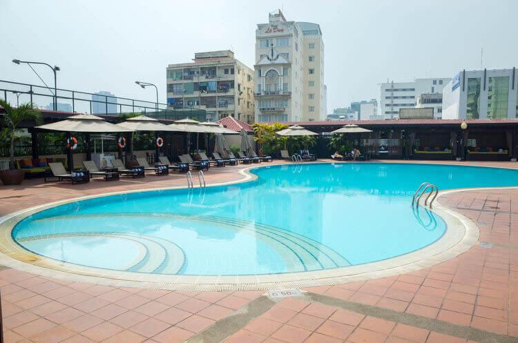 ニューワールドサイゴンホテル  プール