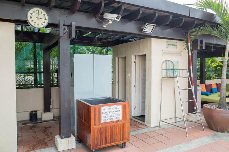 ニューワールドサイゴンホテル  シャワー室