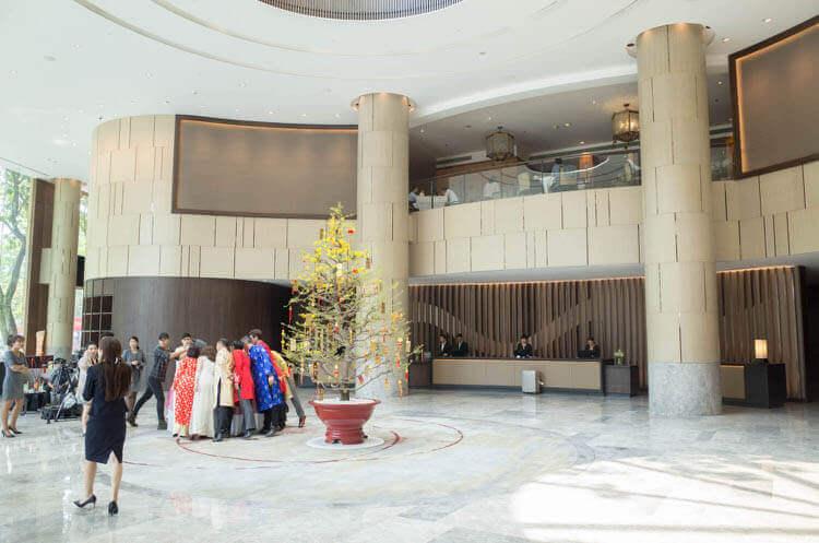 ニューワールドサイゴンホテル  ロビー