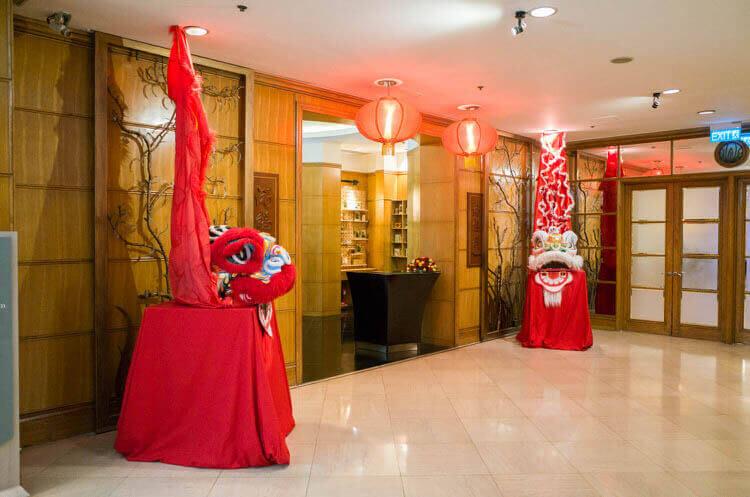 ニューワールドサイゴンホテル  中華レストラン