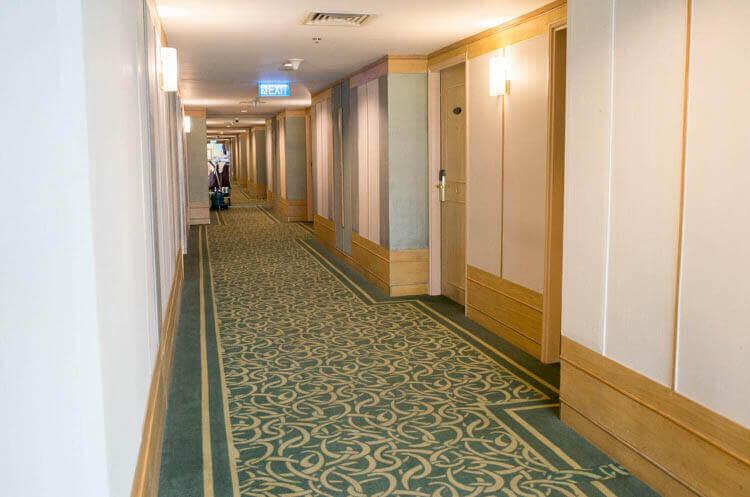 ニューワールドサイゴンホテル  廊下