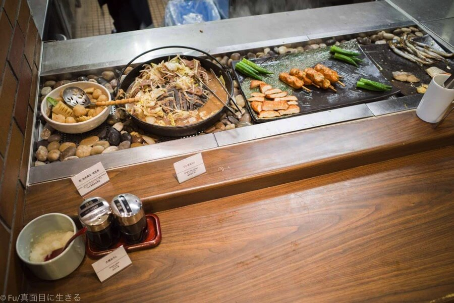 ドーミーインPREMIUM小樽の朝食ブュッフェ 北海道的和食