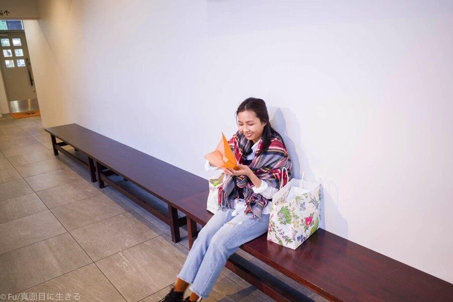 北菓楼(きたかろう) 札幌本館 ベンチ
