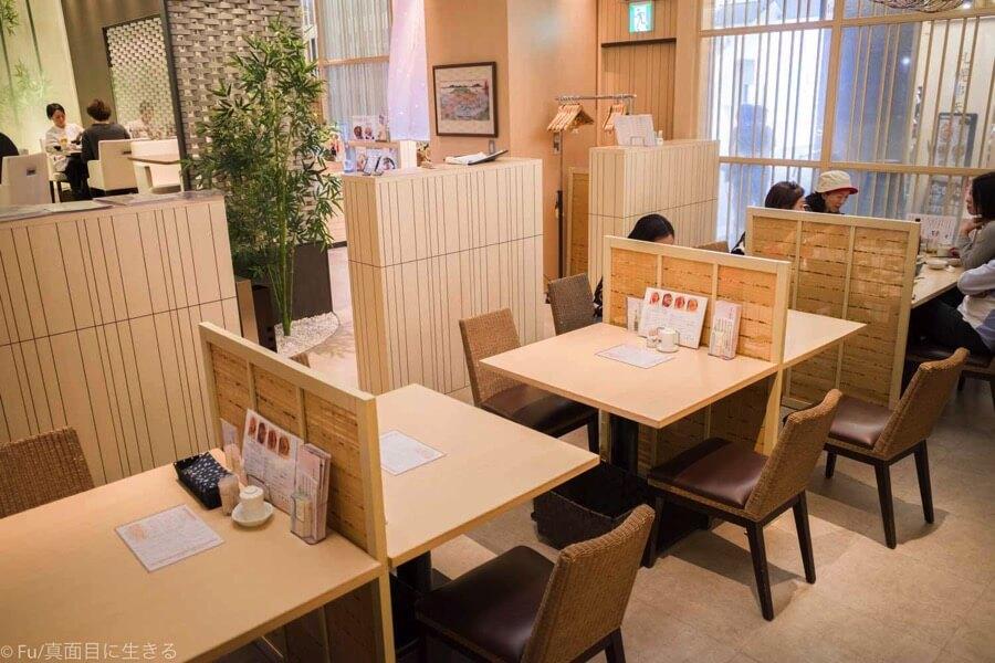函館うに むらかみ 日本生命札幌ビル店 テーブル席