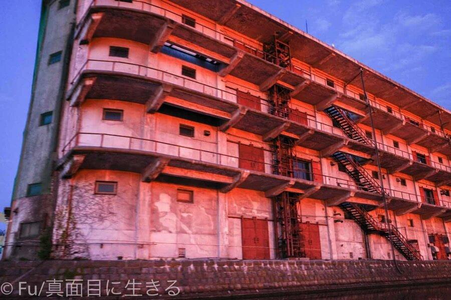小樽運河クルーズ 昔の倉庫