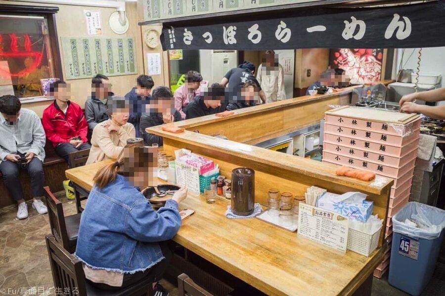 らーめん信玄 札幌南6条店 L時カウンター