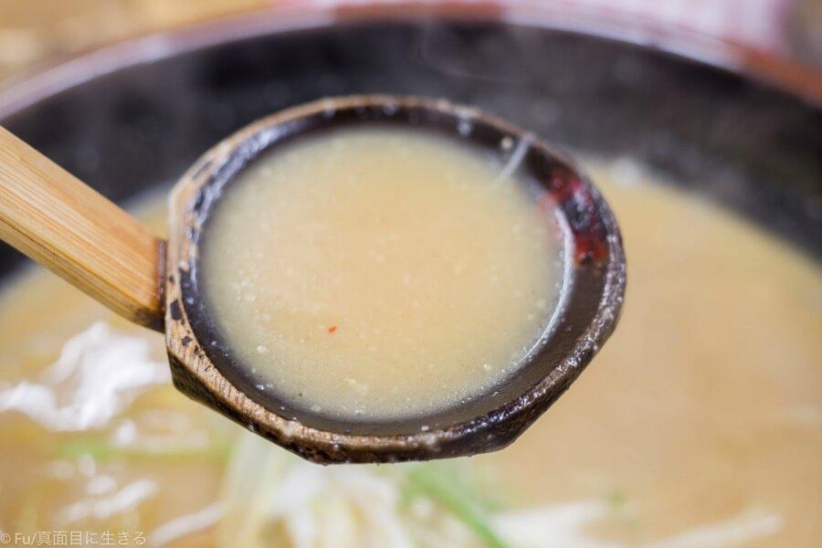 らーめん信玄 札幌南6条店 信州のスープ