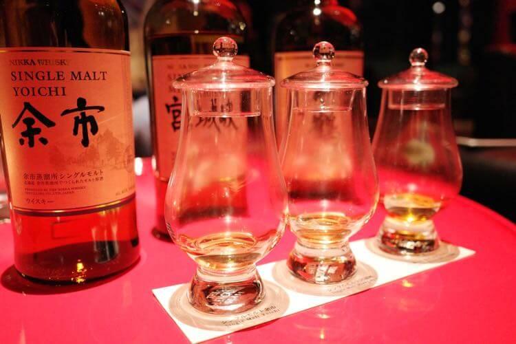 ウイスキー飲み比べ