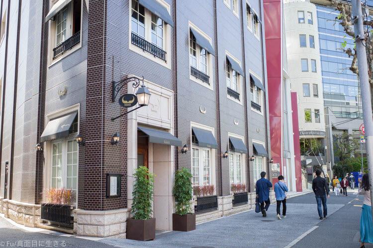 ステーキハウス ハマ 六本木本店 ビルの外観