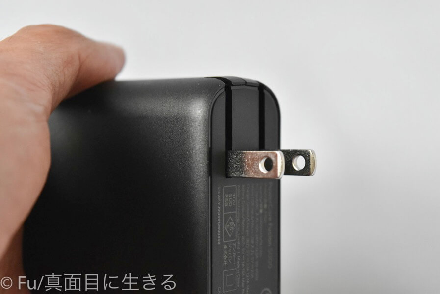 Anker PowerCore Fusion 5000 充電器モード