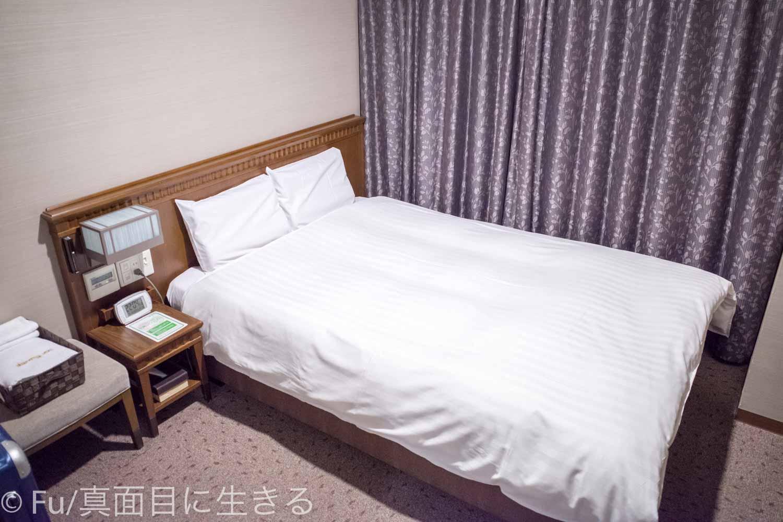 ドーミーイン PREMIUM小樽部屋 ベッド