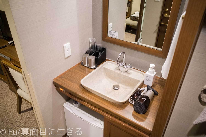 ドーミーイン PREMIUM小樽部屋 洗面台