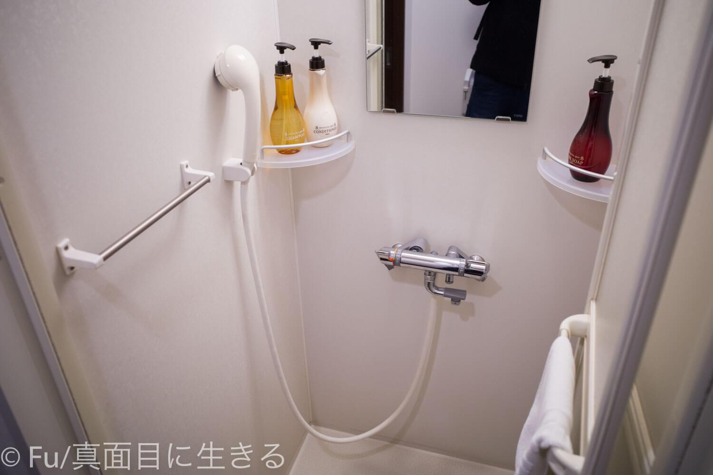 ドーミーイン PREMIUM小樽部屋 シャワー室