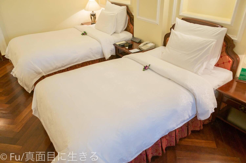 ホテル マジェスティック サイゴン ツインベッド