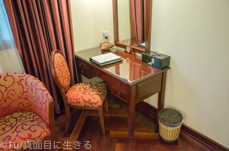 ホテル マジェスティック サイゴン デスク