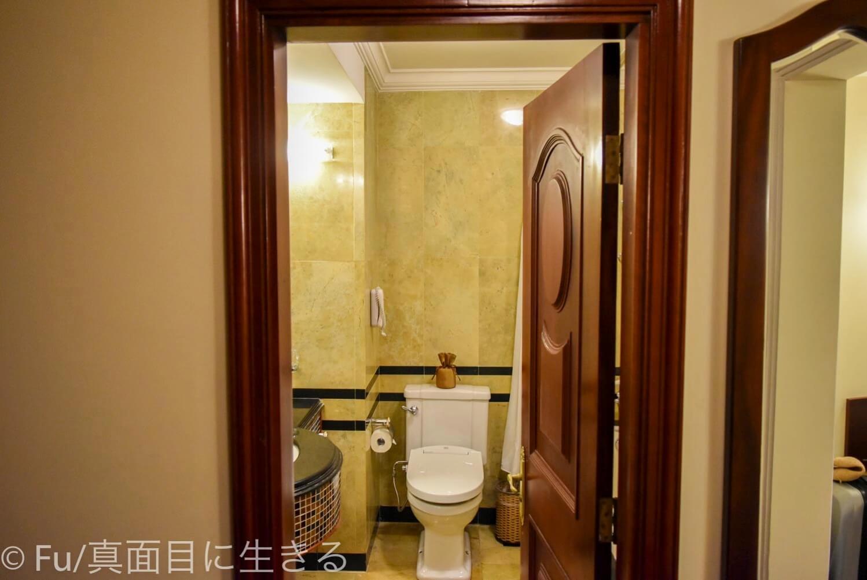 ホテル マジェスティック サイゴン バスルーム