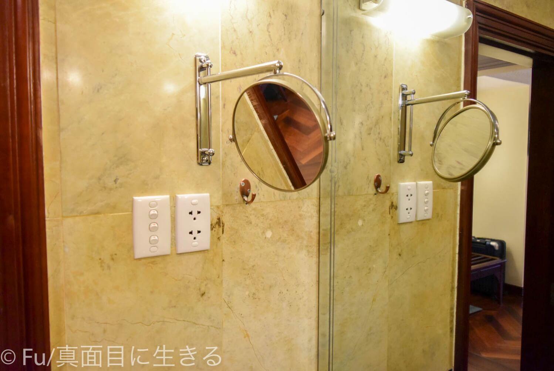 ホテル マジェスティック サイゴン 拡大鏡