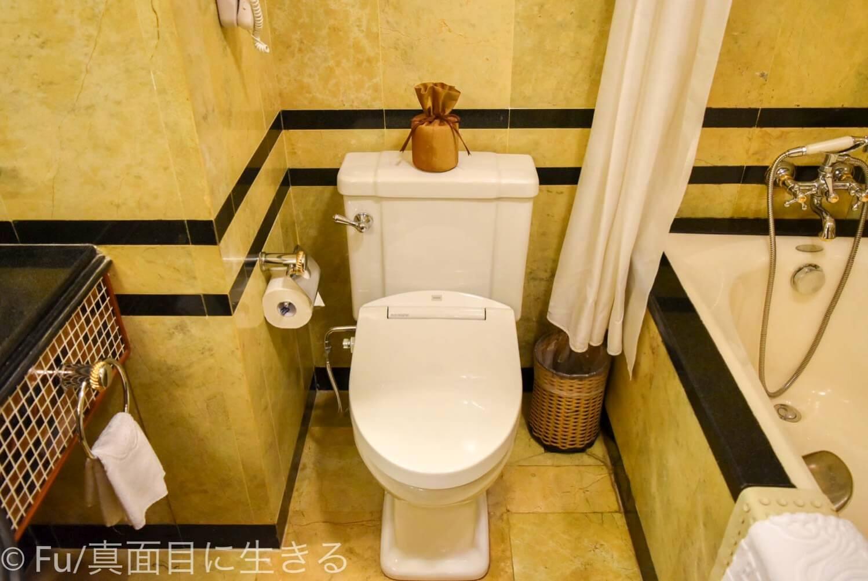 ホテル マジェスティック サイゴン トイレ