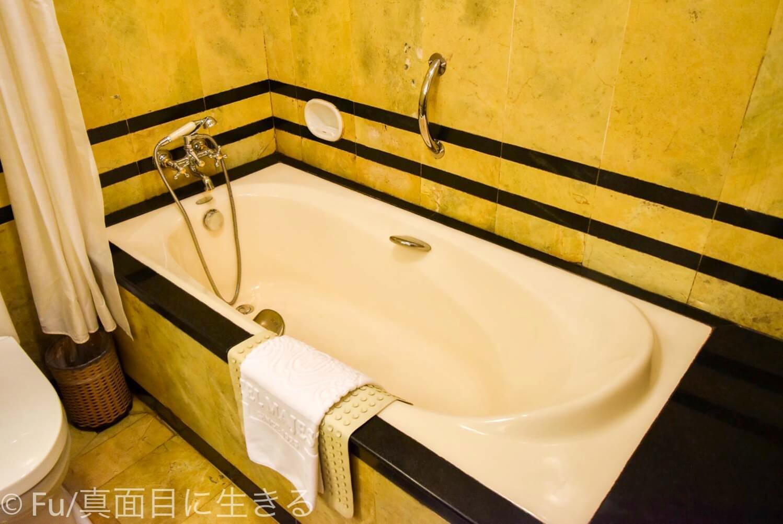 ホテル マジェスティック サイゴン 浴槽