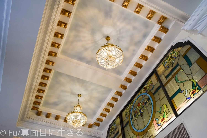 ホテル マジェスティック サイゴン シャンデリア