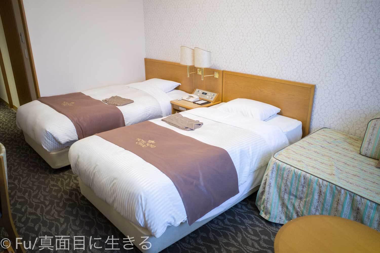ホテルノルド小樽 ツインベッド