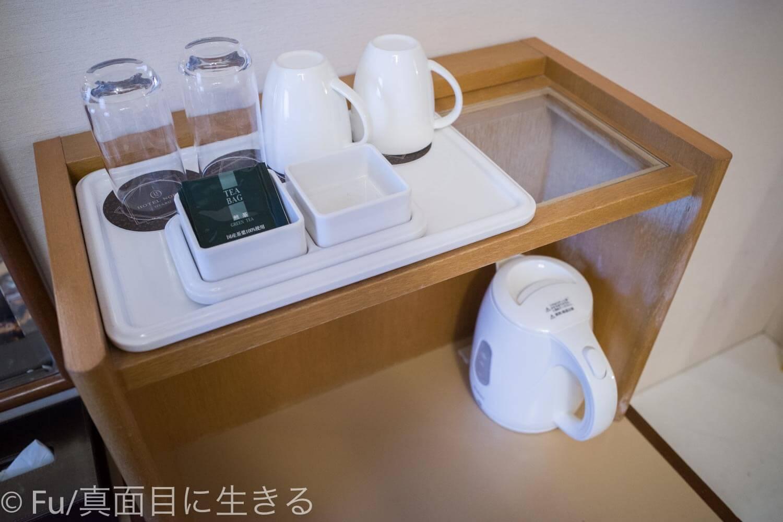 ホテルノルド小樽 お茶セット