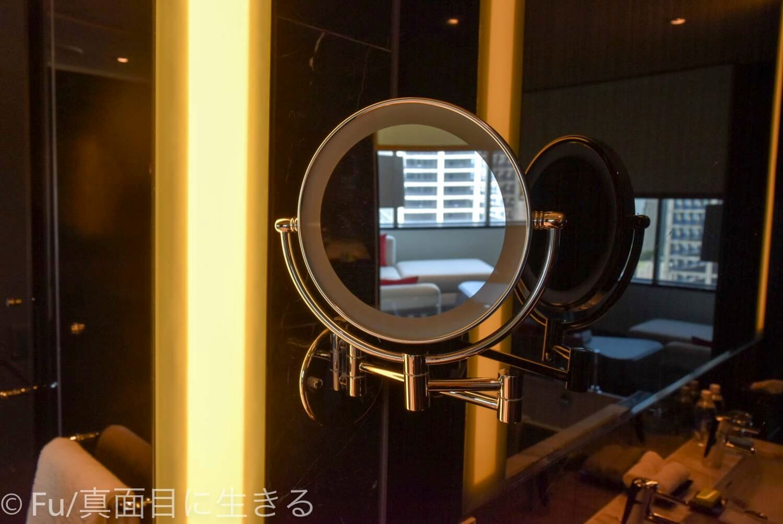 ルメリディアン サイゴン 拡大鏡