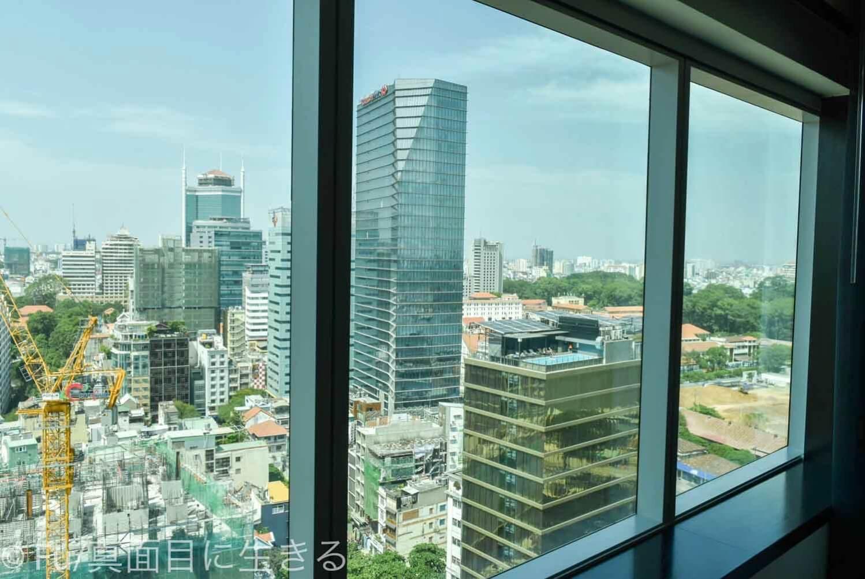 ルメリディアン サイゴン 窓からの風景