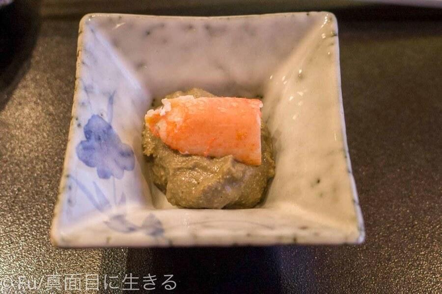 小樽 伊勢鮨 蟹味噌
