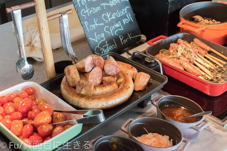 ルネッサンス リバーサイド ホテル サイゴン 肉類