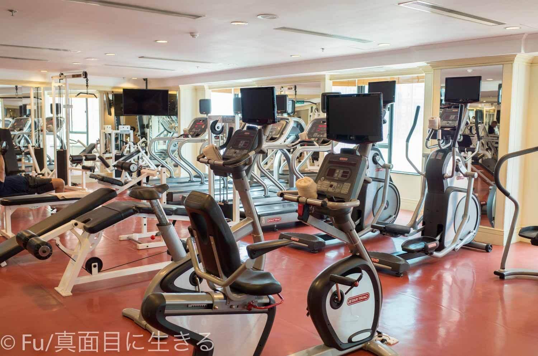 ルネッサンス リバーサイド ホテル サイゴン 有酸素マシン