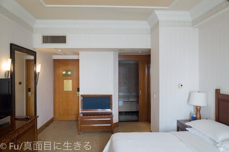シェラトンサイゴン ホテル&タワーズ 窓からの写真