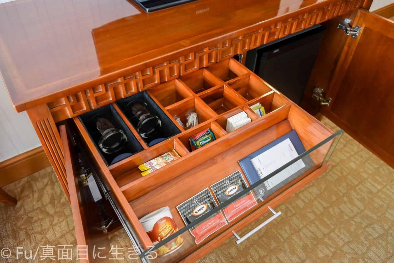 シェラトンサイゴン ホテル&タワーズ 無料の紅茶など