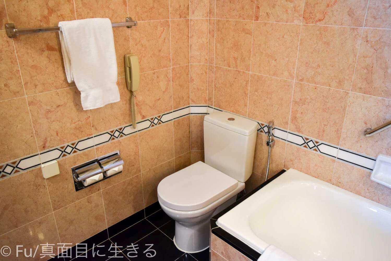 シェラトンサイゴン ホテル&タワーズ トイレ
