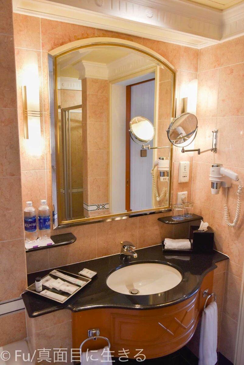 シェラトンサイゴン ホテル&タワーズ 洗面台