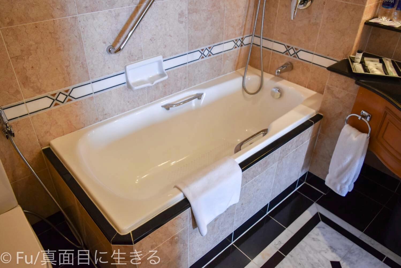 シェラトンサイゴン ホテル&タワーズ 浴槽