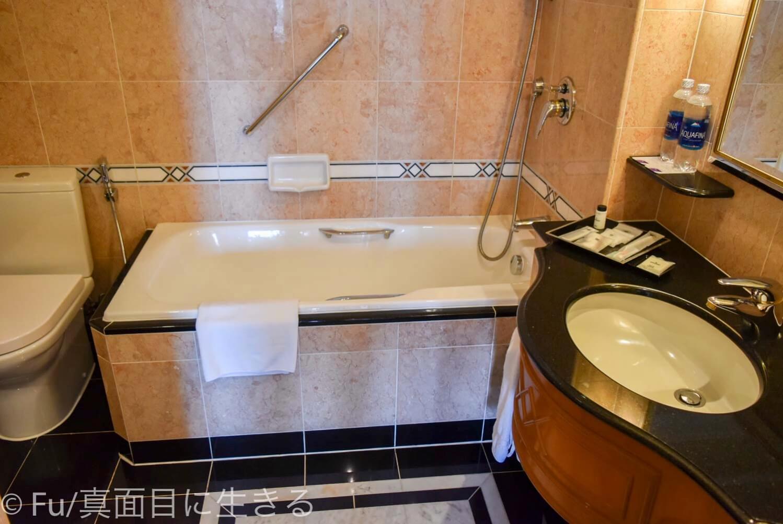 シェラトンサイゴン ホテル&タワーズ バスルーム・トイレ