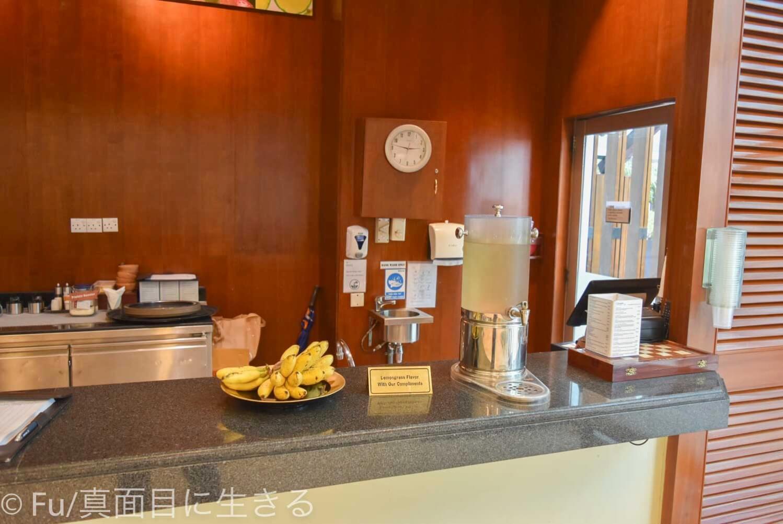 シェラトンサイゴン ホテル&タワーズ ジムの飲み物、バナナ