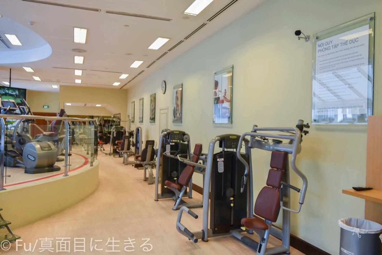 シェラトンサイゴン ホテル&タワーズ ジム筋トレマシン