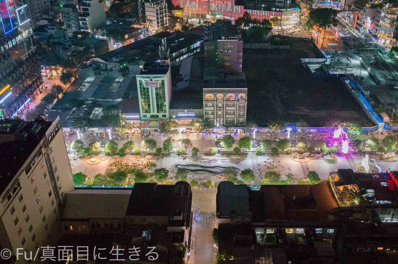 シェラトンサイゴン ホテル&タワーズ ホテルから見る夜景