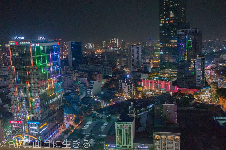 シェラトンサイゴン ホテル&タワーズ 窓からの景色