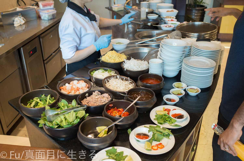 シェラトンサイゴン ホテル&タワーズ 朝食