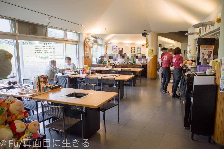 サッポロビール庭園「ヴァルハラ」北海道工場店 店内の様子