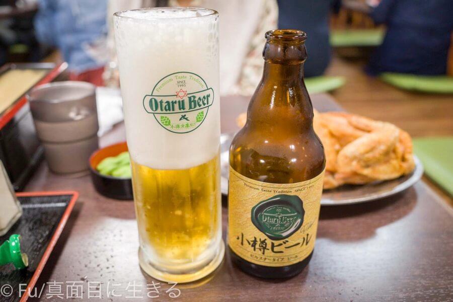 若鶏時代なると 小樽本店 小樽ビール