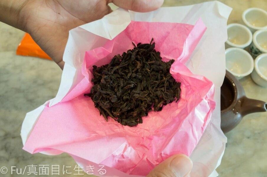 黄亜細肉骨茶餐室 中国茶の葉っぱ
