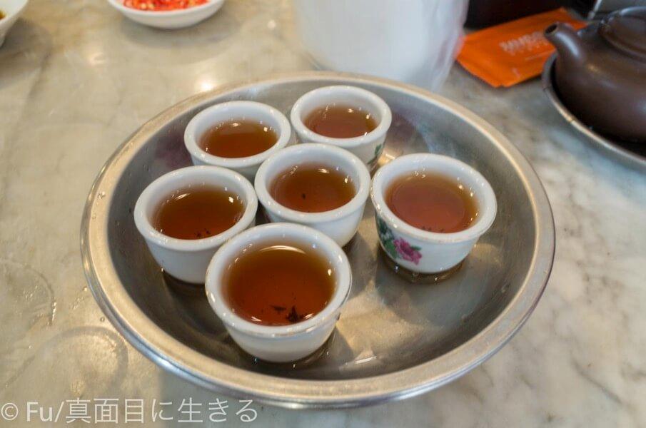 黄亜細肉骨茶餐室 中国茶完成
